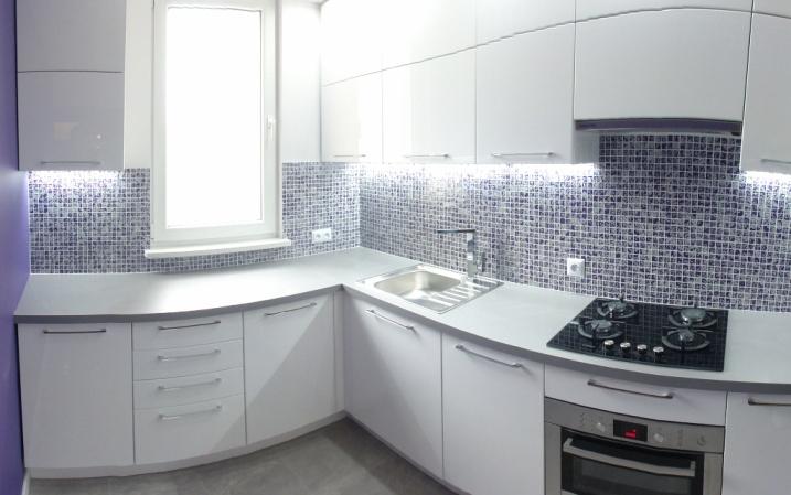 Luksusowa Kuchnia Z Mozaiką
