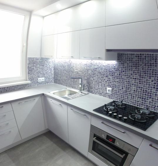 Luksusowa Kuchnia z mozaiką -> Kuchnia Plytki Mozaika