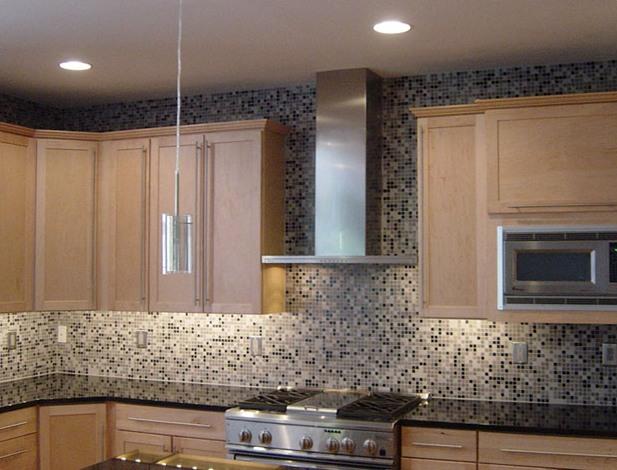 Mozaika w Kuchni  Galeria -> Kuchnia Plytki Mozaika