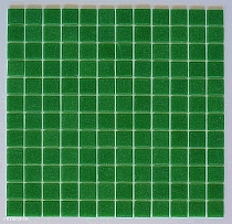Glass mosaic Green A028