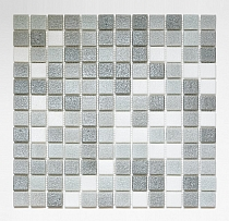 Glass mosaic Grey mix AM126