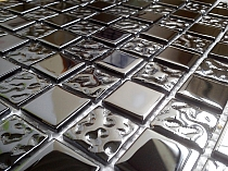 Glass Mosaic Black A117