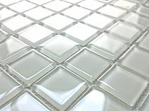 Glass Mosaic White K05