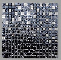 Glass Mosaic + Metal A24