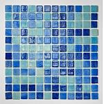 Glasss Mosaic Mix Blue NIEBLA