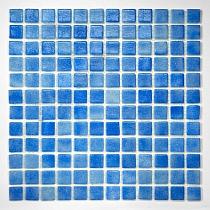 Glass mosaic anti-slip  Blue