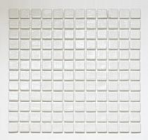 Glass mosaic anti-slip  White