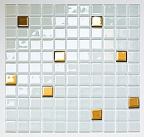 Crystal Glass mosaic   A125