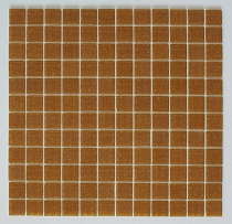 Glass mosaic BROWN B202