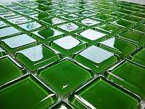 green mosaic K010