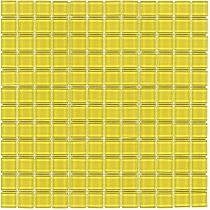 Glass mosaic yellow  K08