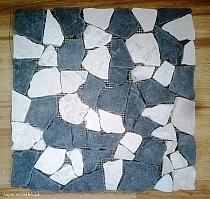 Mosaic of natural stone kolo4