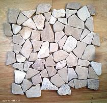 Mosaic of natural stone kolo5