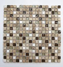 Mosaic Glass + Stone ONIX mix A31