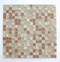 Mosaic Glass + Stone ONIX mix A32