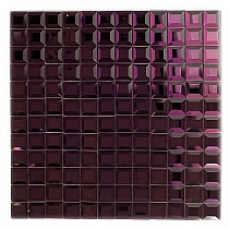 DIAMOND Glass mosaic  Violet A119