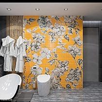Glass mosaic Hanami orange