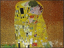 Luxury glass mosaic The Kiss (Klimt)