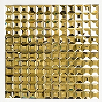 DIAMOND Glass mosaic GOLD A113 - COPY