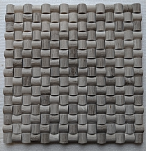Mozaika kamienna G02 wood 3D