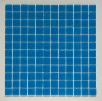 Glass mosaic Blue C303