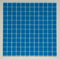 Glass mosaic Blue C303
