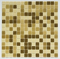 Glass mosaic Brown mix BM211