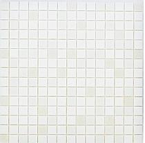 Glass mosaic White+ Grey AM106