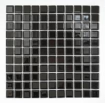 Crystal Glass mosaic Black K01