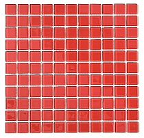 Crystal Glass mosaic Red K02