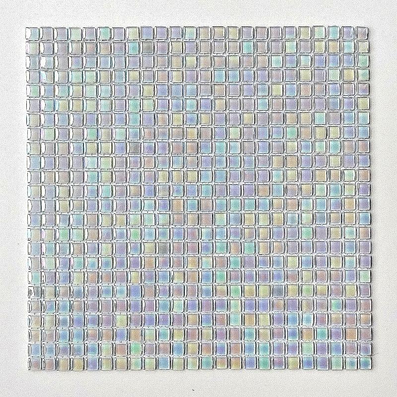 Mozaika Szklana Biała perła A21