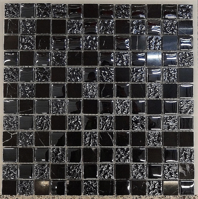 Glass Mosaic + Marble Mix  A25