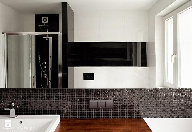 Mozaika Kamienno Szklana Czarna Mix A25 Marmur Mozaika