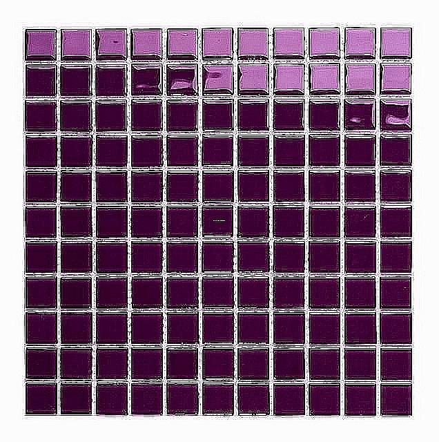 Mozaika Szklana FIOLETOWA WRZOS K012