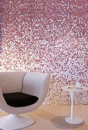 Mozaika szklana Melange  Pomarańczowa DC408