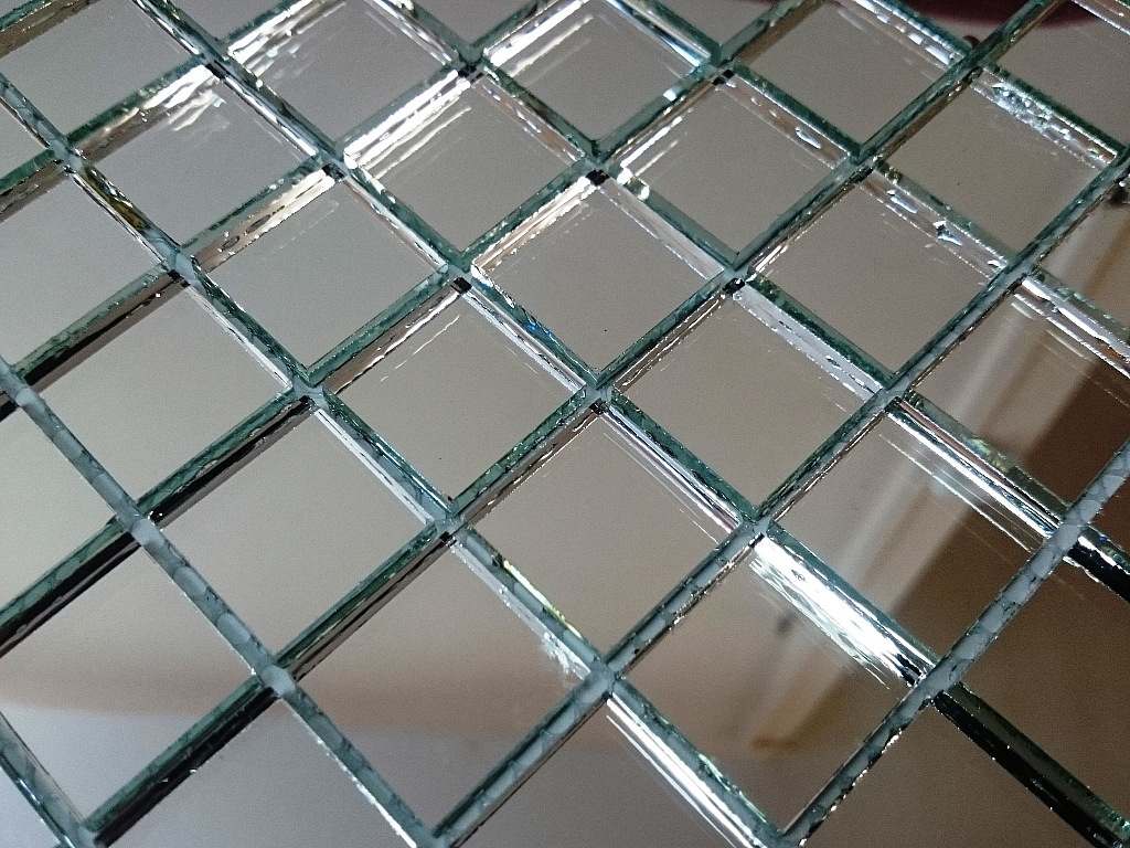 Mozaika Szklana  lustrzana