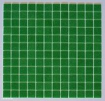 Mozaika szklana Zielona butelkowa A028