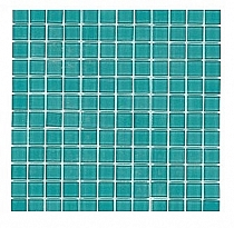Mozaika Szklana Turkusowa K011
