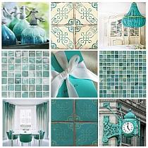 Glass Mosaic Blue K011