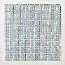 Glass mosaic White Pearl A21