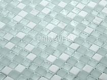 Mozaika Kamienno Szklana Biała A22