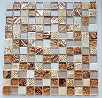Mozaika Kamienno Szklana Beżowa  MayA SuN  wzorowana na BARWOLF Aztec