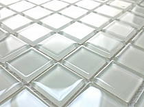 Glass Mosaic White K05
