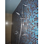 Mozaika Szklana Niebieska-złota KMC07