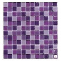 Mozaika Szklana  Fioletowa WRZOS mix  KMC09