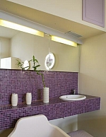 Glass mosaic  Purple D401