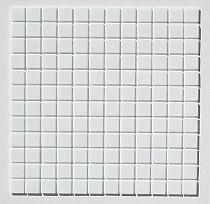 Mozaika szklana Biała A102/20