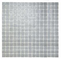 Mozaika Szklana Srebrzysto-Szara A110
