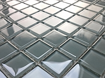 Glass mosaic grey K06