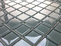 Mozaika Szklana Szara K06 - wysoki połysk